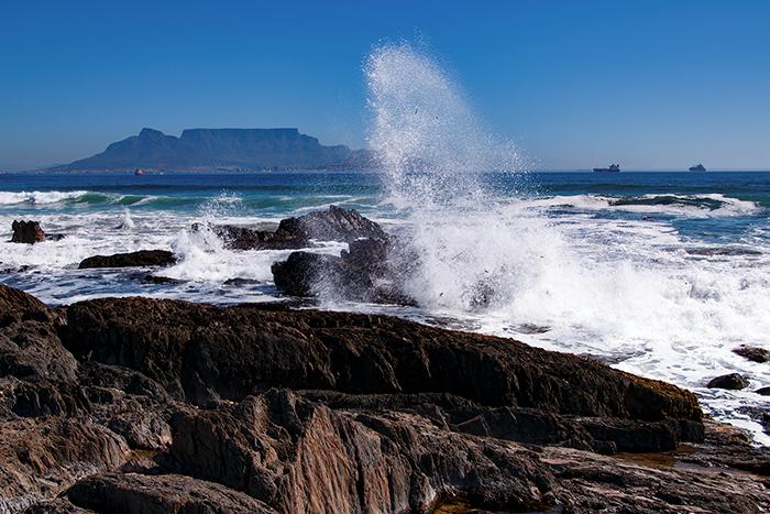 Het mooiste uitzicht op de Tafelberg vanaf Bloubergstrand