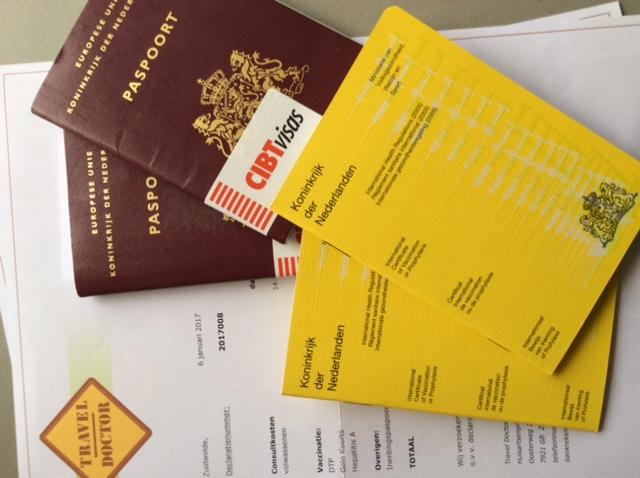 congo, reisvoorbereidingen