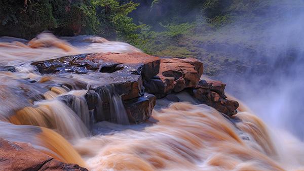 zongo falls, congo